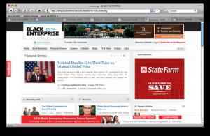 Beta.BE.com Screenshot