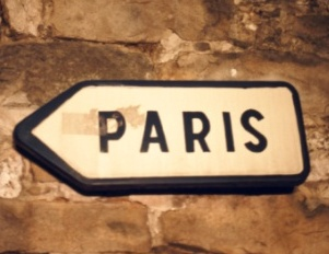 This way to Paris, France, City of Lights