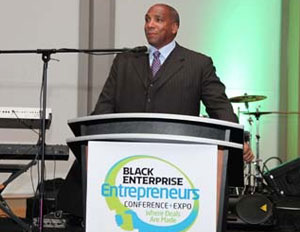 "Earl ""Butch"" Graves Jr at 2011 Black Enterprise Entrepreneurs Conference + Expo hosted by Nationwide"