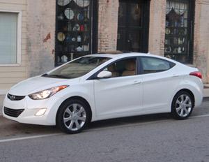 2011 Hyundai Elantra Limited compact