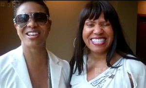 MC Lyte and mother Constance