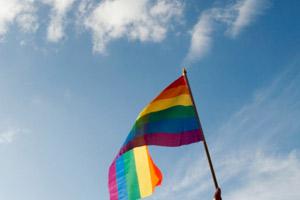 lgbt gay pride flag