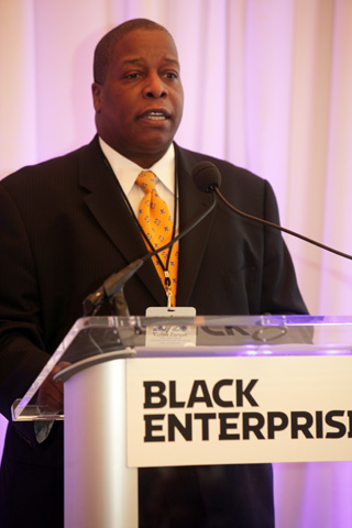 Black Enterprise Editor-in-Chief Derek T. Dingle, delivered a few closing remarks at the end of a stirring event that was relevant to everyone