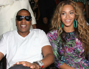 jay-z and beyonce smiling