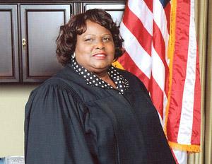 bernett johnson in supreme court robe