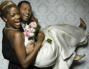 black married couple