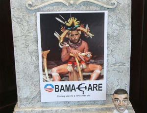 obama witch doctor photo