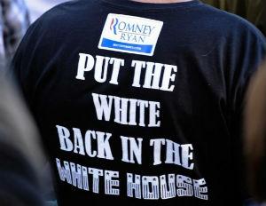 racist romney t shirt