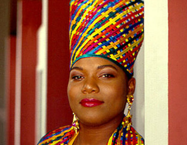 Latifah shows why she's a queen.