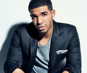 drake in suit jacket