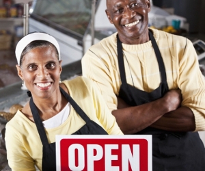 BUSINESS OWNERS OPEN FOR BUSINESS