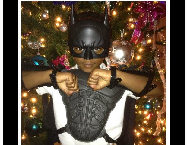 Royce Reed + Braylon dress up for Christmas