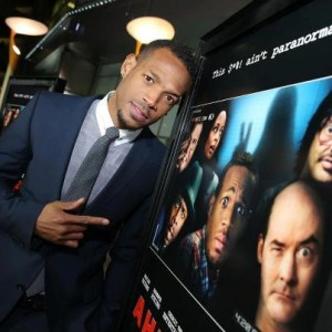 marlon wayans a haunted house red carpet