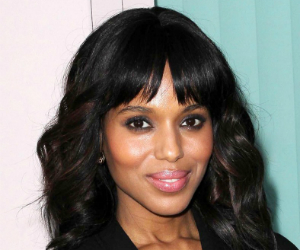 kerry washington smiling