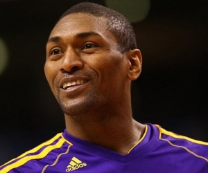 metta world peace smiling