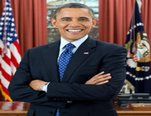 president obama second term portrait
