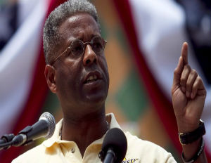 allen west talking