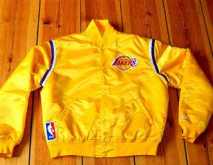starter lakers jacket