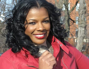 Syleena Johnson smiling