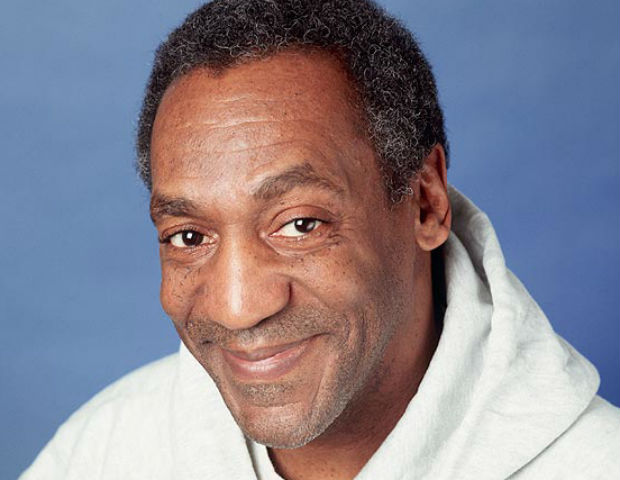 headshot of Bill Cosby smiling