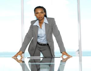 black executive woman