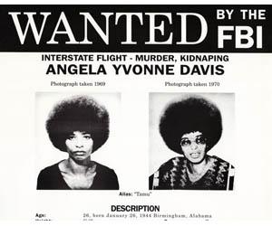 angela davis wanted poster