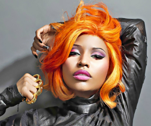 nicki minaj orange hair