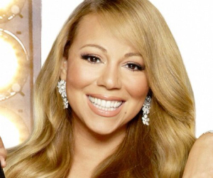 mariah carey smiling