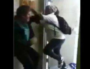 student beats up teacher