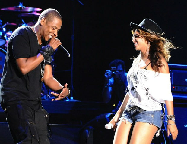 Bey and Jay never blink when it comes to sharing the stage.
