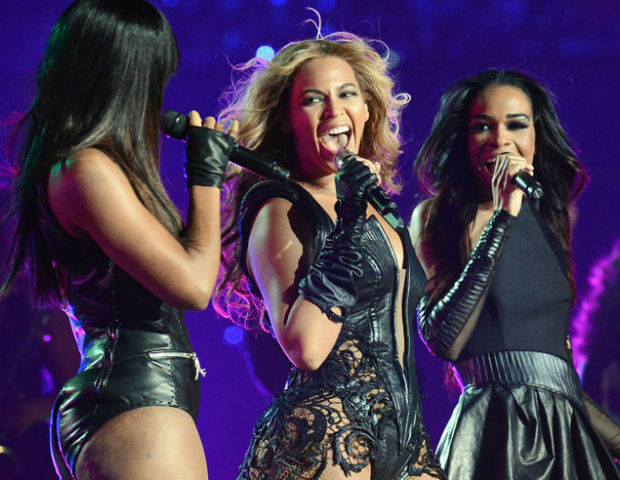 Beyoncé, Kelly and MIchelle reunite for Superbowl XLVII