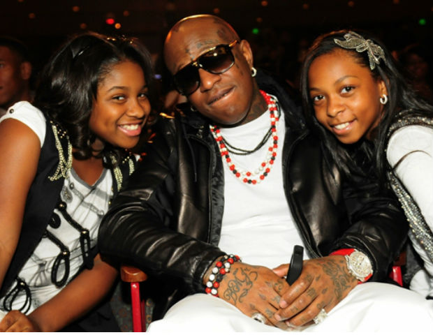 birdman and his daughter bria