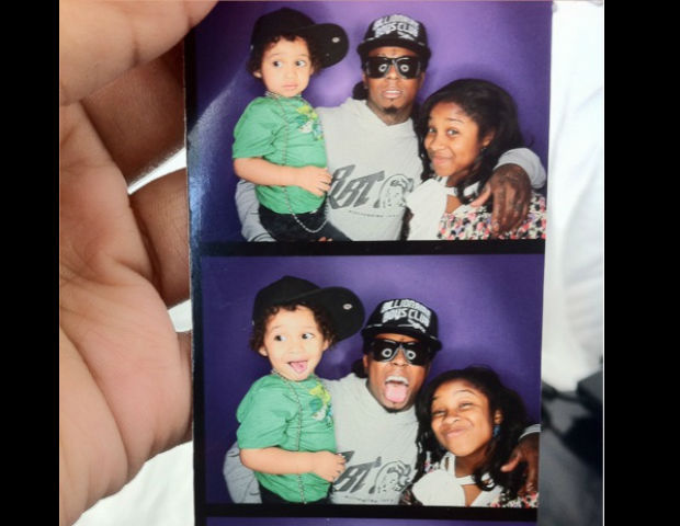 lil wayne pics with his children