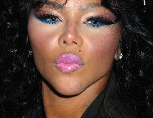 lil kim makeup