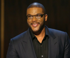 tyler perry smiling