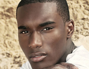 black man clear skin