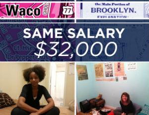 cost of living waco brooklyn