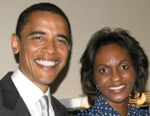 suzan mcdowell and president obama