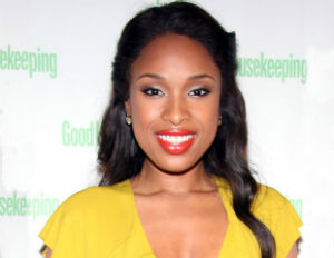 jennifer hudson smiling yellow dress