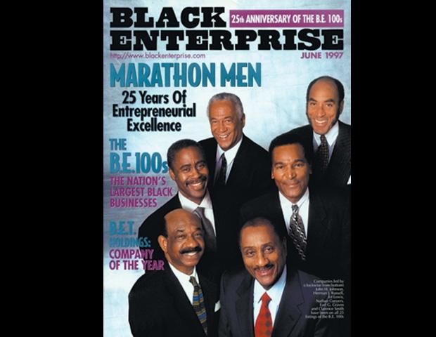 black enterprise marathon Men COVER