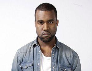 headshot of Kanye West