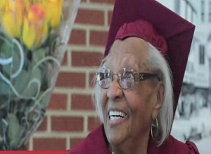 98-Year-Old high school graduate