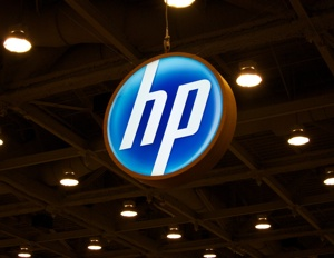 HP logo at Macworld