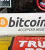 bitcoin accepted here sticker