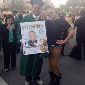 Christopher Wallace, Jr graduates