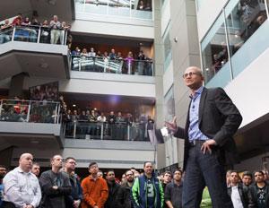 Satya Nadella Microsoft Employees