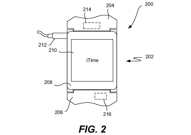 apple iwatch itime patent