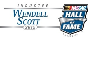 NASCAR Hall of Fame inductee Wendell Scott