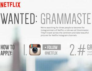 netflix instagram grammaster