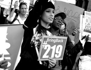 Alicia Keys Heads Protests for kidnapped Nigerian girls